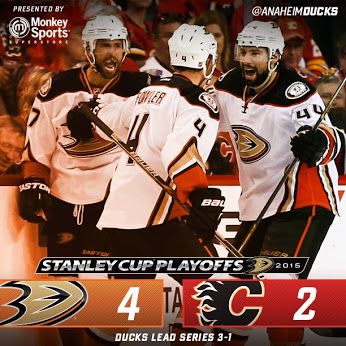 That's the way to bounce back boys! Let's send them packing in Game 5!