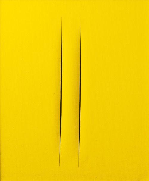 ❤️ Lucio Fontana