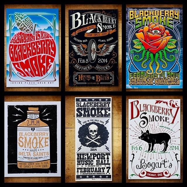 tour posters for blackberry smoke stuff pinterest see best ideas about blackberries. Black Bedroom Furniture Sets. Home Design Ideas