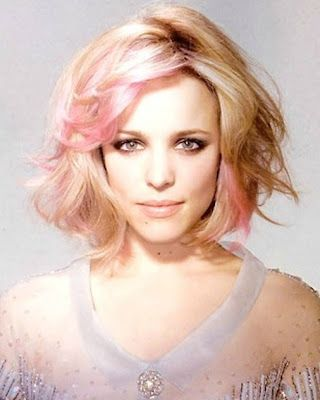 Pink Highlights In Blonde Hair #5