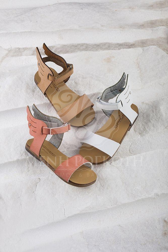 Παπούτσια βάπτισης περπατήματος για κορίτσι της Babywalker