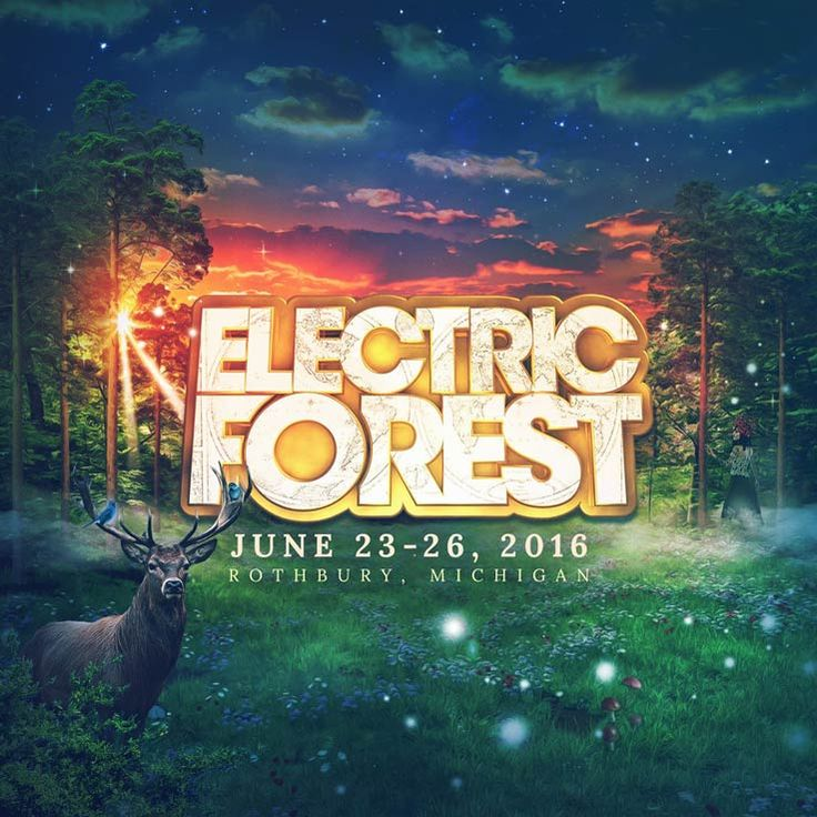 Electric Forest Festival 2016 Dates | June 23-26 | Michigan