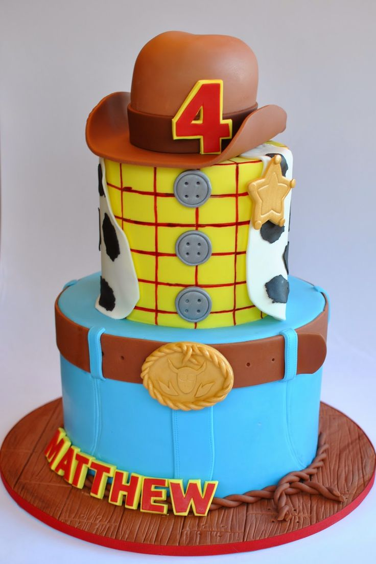 Woody Cake, Toy Story Cake, Hope's Sweet Cakes, hopessweetcakes.com
