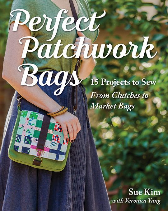 From a roomy market tote to a tablet sleeve and handy backpack, these simple patchwork purses are fun to quilt and carry. Book available in hardcopy or as a PDF download.