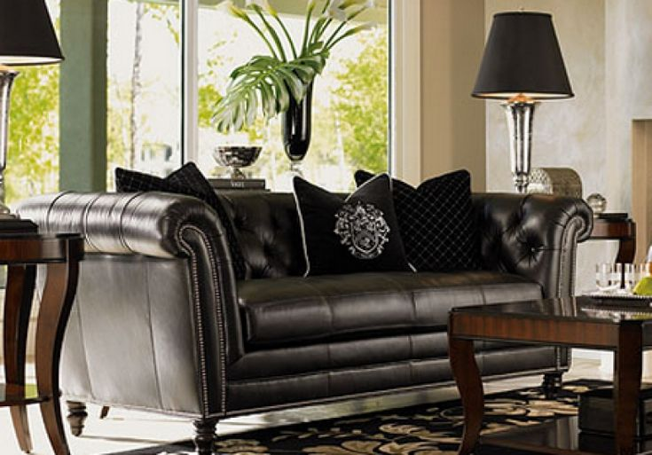 Black Leather Couches For Cheap