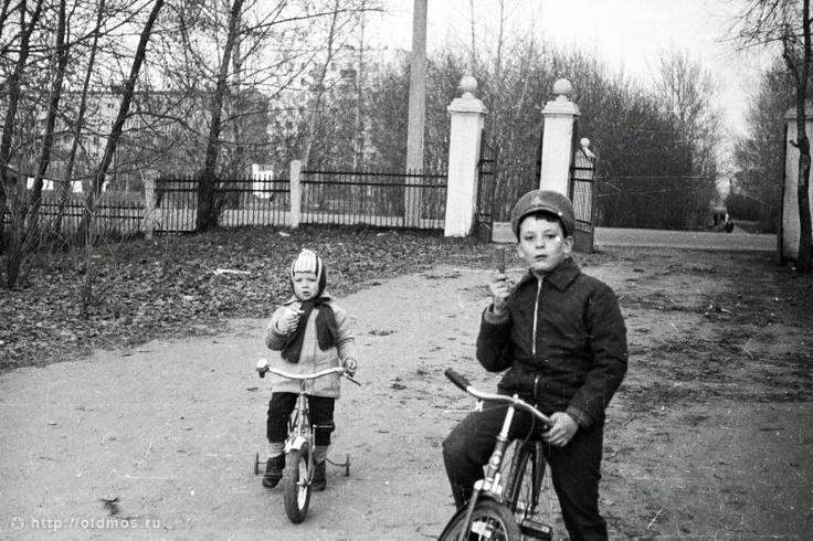Фотография - В парке у 9-шлюза - Фотографии старой Москвы