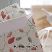 Free shiipping chinese white flower paper envelope for wedding gift packaging envelopes vintage airmail envelopes  17.5*12.5cm
