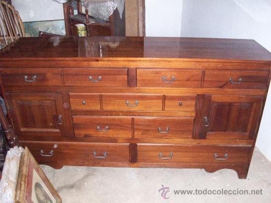 C moda aparador en madera largo 170 cm altura 90 cm y for Comoda 50 cm ancho