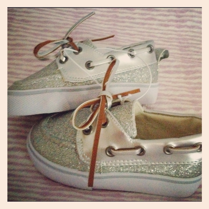 Bling baby sperrys purchased at babies r us <3