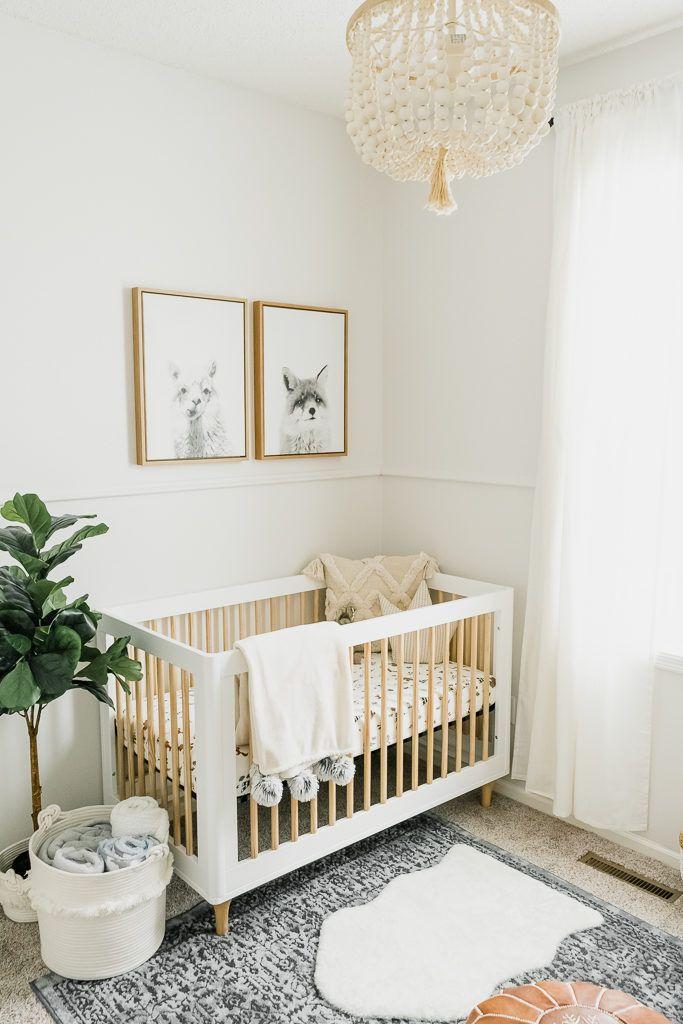 Neutral Boy Nursery Reveal 11m2 Pokój Dziecka Und Dzieci