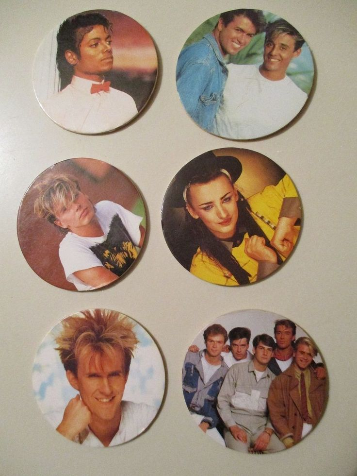 vintage  #cereal toys .1980s pop musicians ' #video star badges' #cultureclub/wh,  View more on the LINK: http://www.zeppy.io/product/gb/2/201799659167/