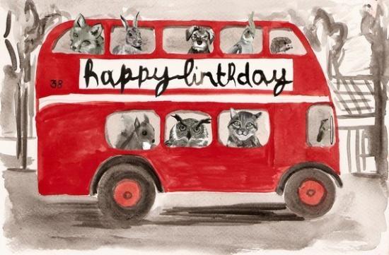 birthday bus!