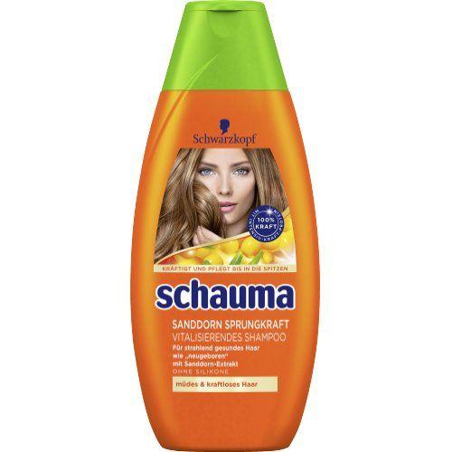 Schwarzkopf Schauma Shampoo Vitalisierend Sanddorn Sprungkraft