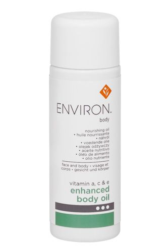 For smoother skin all over, try a lotion with lactic acid, advises Candace Noonan, master esthetician for Environ (a crazy-effective South African skin care line), such as the brand's Dermalac lotion. Follow with a vitamin-infused body oil for extra moisture. Environ Enhanced Body Oil, available at DermaConcepts.   Beauty Tricks That Work While You Sleep #refinery29