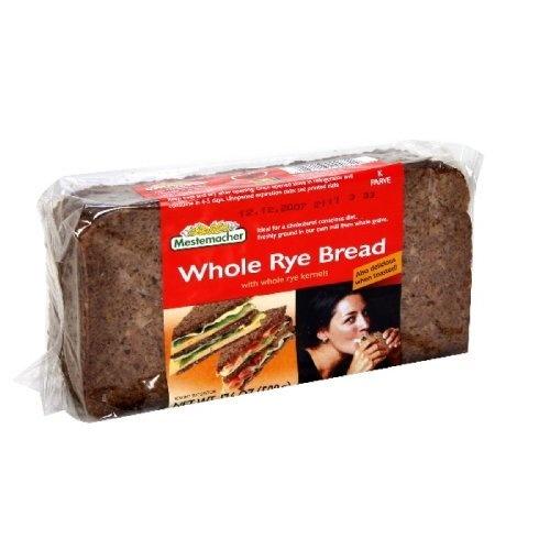 Mestemacher Bread Whole Rye, 17.6-Ounce (Pack of 6) by Mestemacher, http://www.amazon.com/dp/B00472672C/ref=cm_sw_r_pi_dp_ZNkxqb1MECRHEMestemach Breads, Rye Breads