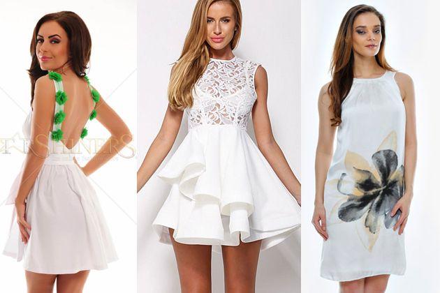 Modele de Rochii de Vara Albe Lungi si Scurte Online -> http://www.fashion8.ro/shopping/819-modele-de-rochii-de-vara-albe-lungi-si-scurte-online
