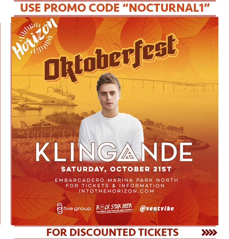 """HORIZON OKTOBERFEST 2017 DISCOUNT PROMO CODE TICKETS SAN DIEGO   USE PROMO CODE """"nocturnalsd""""  Event tickets   http://intothehorizon.com  HORIZON OKTOBERFEST LINEUP  Horizon Oktoberfest Lineup is listed here below with bio on each DJ. For more information you can go to the event homepage   here: http://intothehorizon.com/  Eventing info   https://nocturnalsd.com/event/horizon-oktoberfest-2017-discount-promo-code-tickets-san-diego/  Horizon Oktoberfest 2017 Discount Promo Code Tickets San…"""