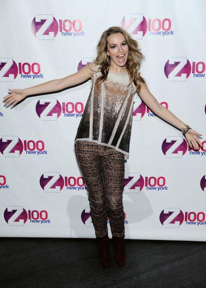Bridgit Mendler at Z100s Jingle Ball 2012 Photoshoot -08