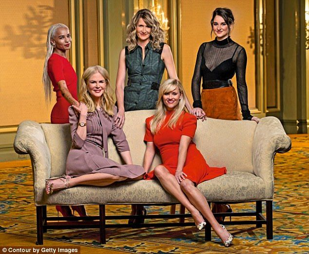Smash hit: According to The Daily Telegraph , Big Little Lies received more than double the debut audience of Game Of Thrones