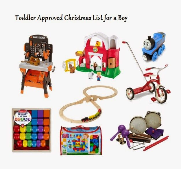 Christmas Gift Ideas for an 18 month old boy