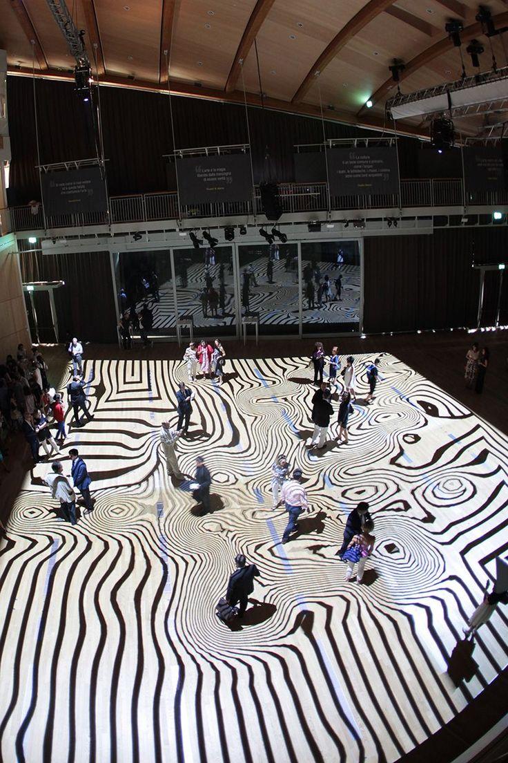 Miguel Chevalier Onde Pixel At Milan S Unicredit