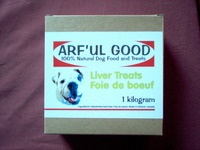 Beef Liver Treats 1kg, $43.99, www.arfulgood.com