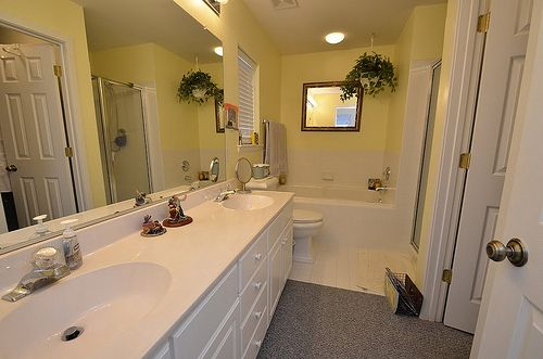 Figure out what to do with your old bathroom fixtures after a renovation, here!