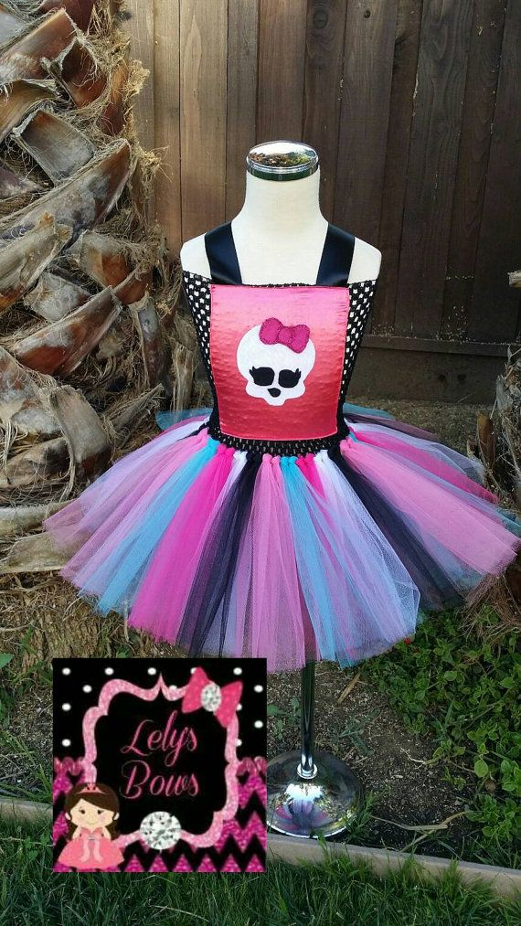 Monster high tutu dress, Monster High tutu , tutu dress, Monster high party dress, tutu, Monster high birthday, Monster high outfit, Monster