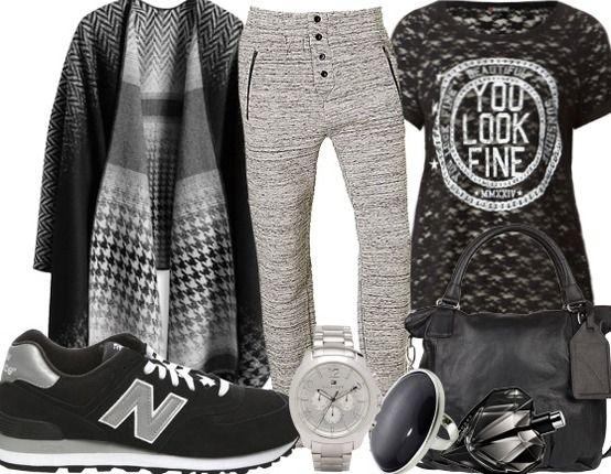 Voor een luie, grijze zondag.. - Casual Outfits - stylefruits.nl