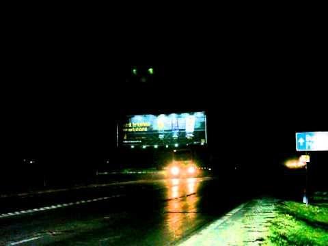 Locatie publicitara speciala 30x10m DN1 Banesti filmare de noapte - YouTube