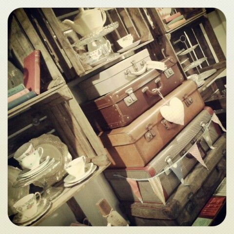 Vintage props for a rustic look to your event ♥