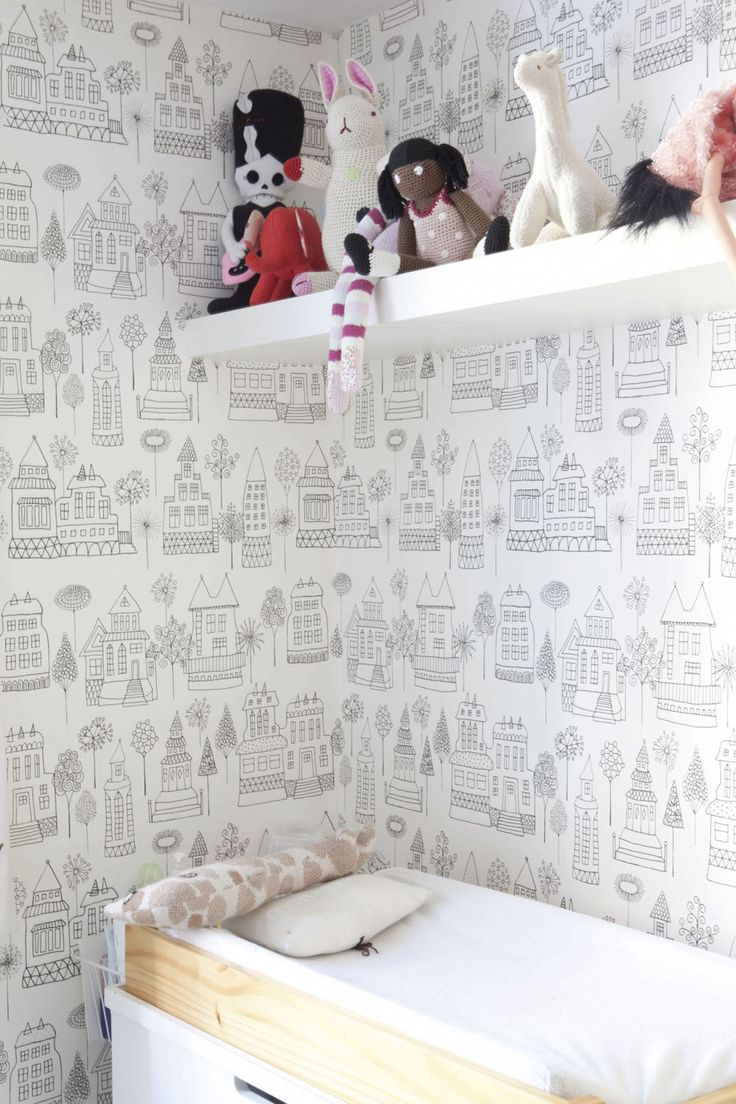 bohème chic kids room