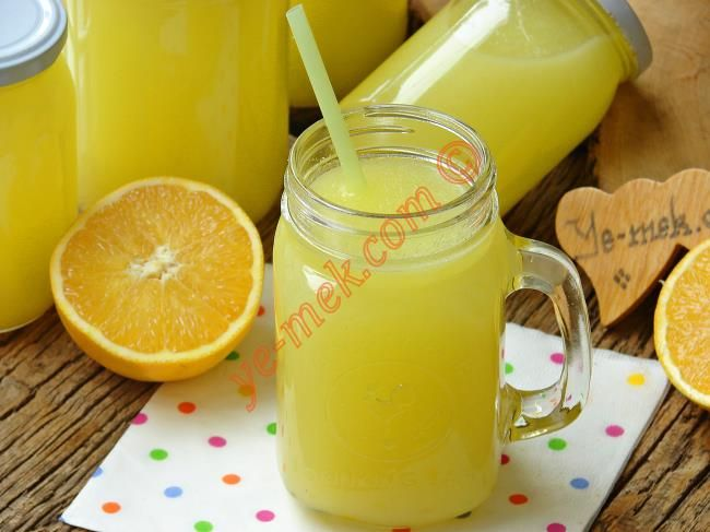 3 Portakaldan 5 Litre Portakal Suyu Resimli Tarifi - Yemek Tarifleri