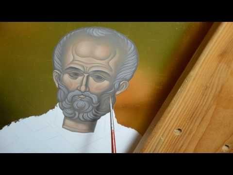 Иконопис - Свети Никола 04 - YouTube