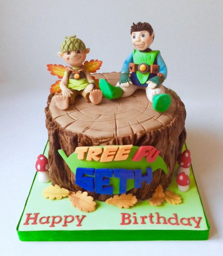 Tree Fu Tom Cake - Cake by Lizzie Bizzie Cakes