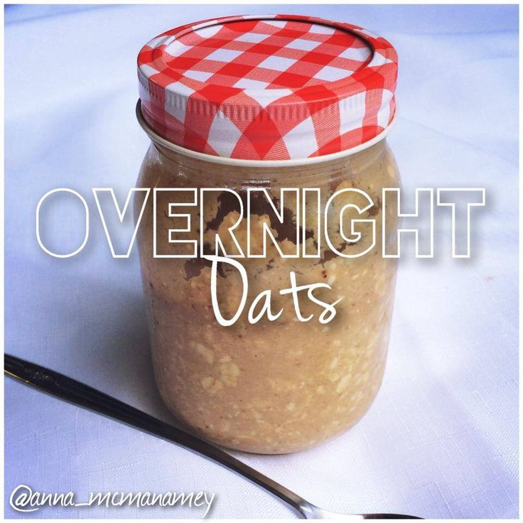 OVERNIGHT OATS by Anna McManamey. For this recipe and more fitness food ideas go to: www.facebook.com/amcmanamey