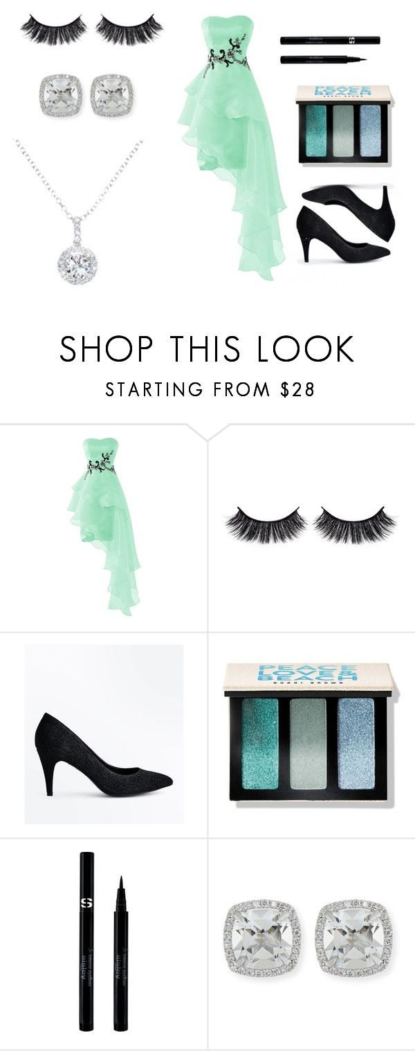 """""""Mint Green"""" by janaeyoung ❤ liked on Polyvore featuring Battington, New Look, Bobbi Brown Cosmetics, Sisley, Frederic Sage and EWA"""