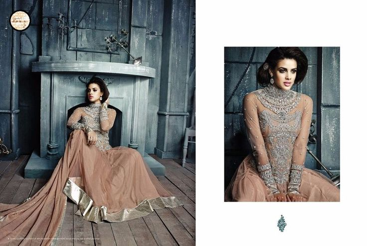 Indian Pakistani Designer Shalwar Bollywood Anarkali Salwar Kameez Suit 732-19 #JF #LongAnarkali #All