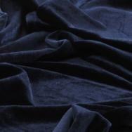 Navy Blue Velvet Table Runner and Tablecloth