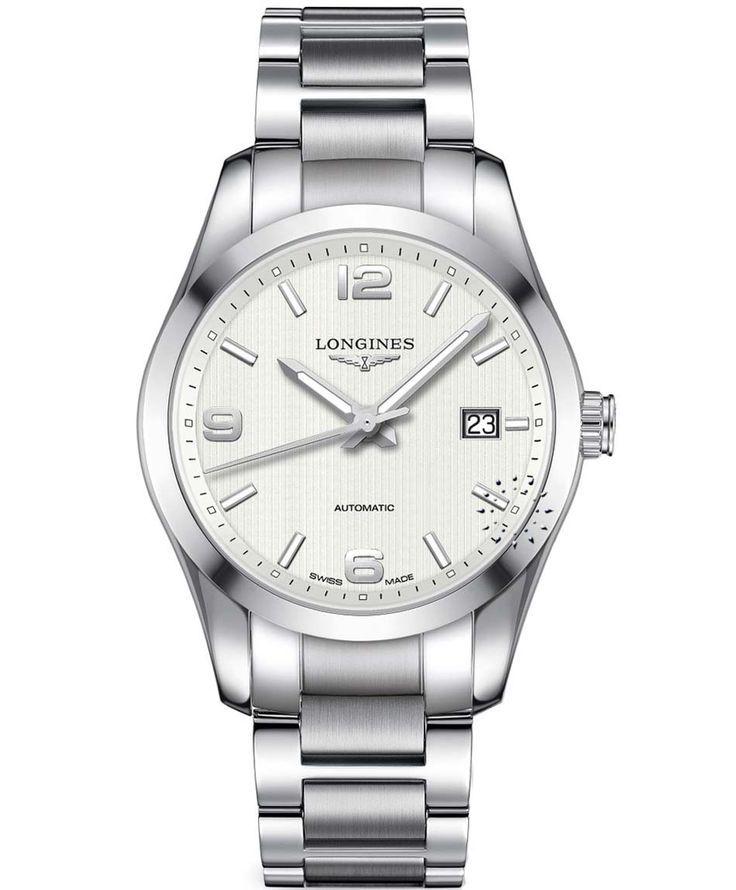 LONGINES Conquest Stainless Steel Bracelet Τιμή: 1.500€ http://www.oroloi.gr/product_info.php?products_id=34355