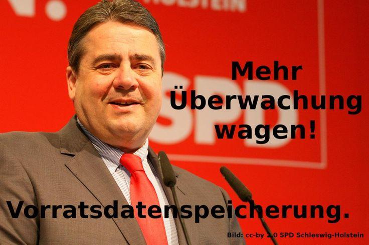 """""""@kattascha: Was hat Sigmar Gabriel aus #Snowden gelernt? #VDS #SPD """" Er ist das Geschwür am Nabel der Demokratie!"""