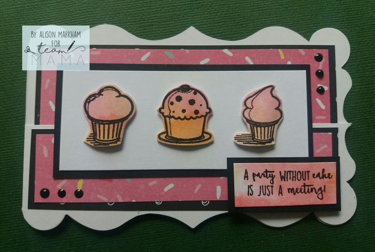 Mama Makes Cake and Friends stamps