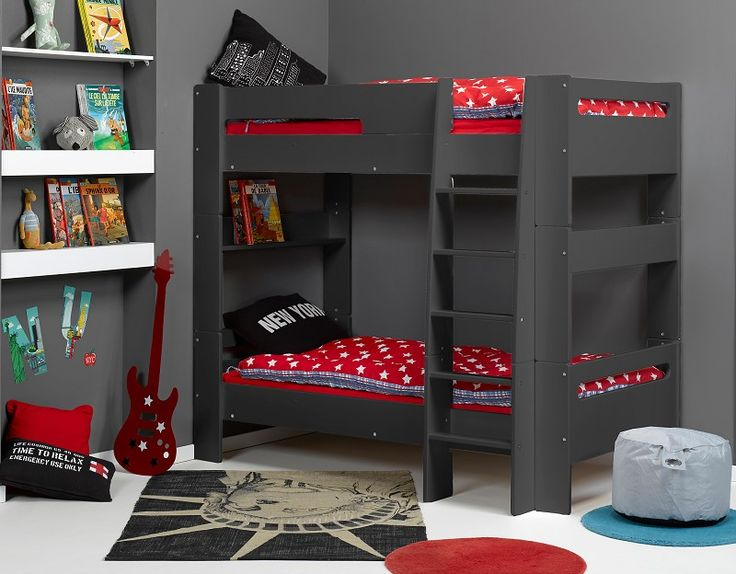 les 25 meilleures id es de la cat gorie lit superpos pas cher sur pinterest lit cabane pas. Black Bedroom Furniture Sets. Home Design Ideas