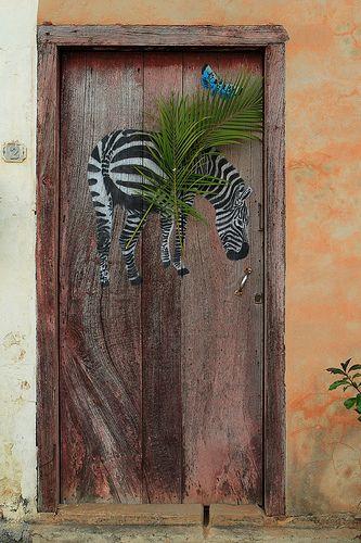 Africa door