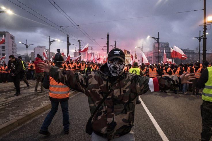 Warschau: Polens Außenministerium verteidigt Aufmarsch von Rechten - SPIEGEL ONLINE - Politik