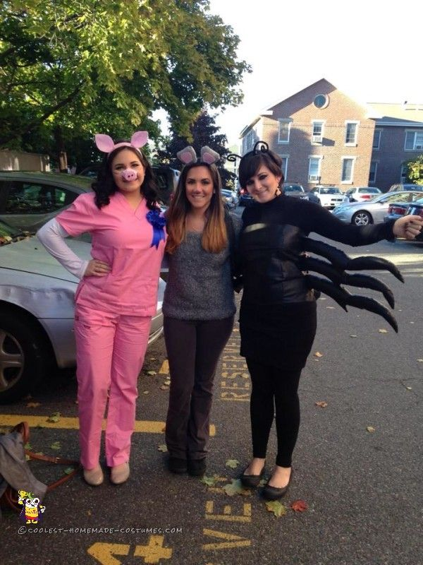 coolest charlottes web girl group costume - Girl Group Halloween Costume