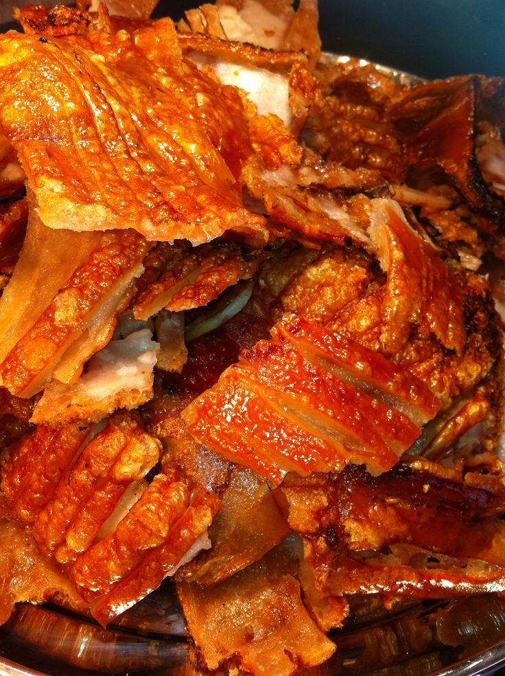 Pork crackling - the Food of The Gods