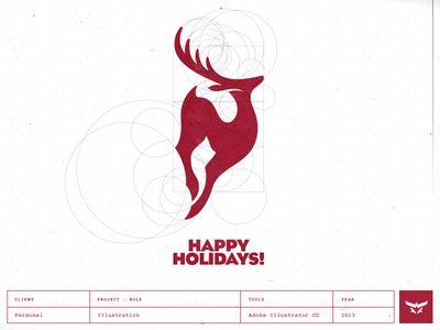 Happy Holidays - Logo Design