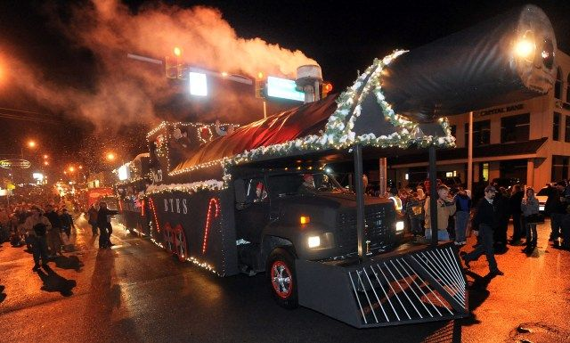 BTES' amazing Christmas Parade float 2012 - The Polar Express