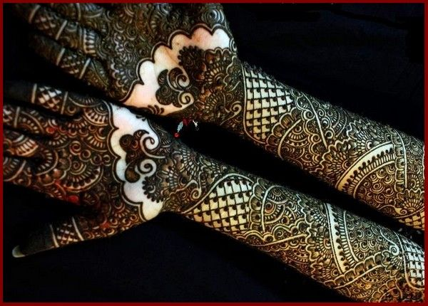 Bridal Mehndi Design Collection For Full Hands